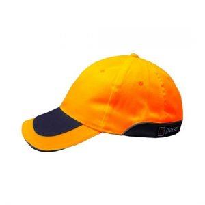 kepure-su-snapeliu-pesso-oranzine