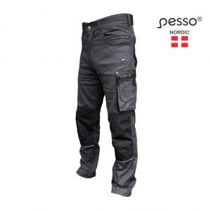 darbo-kelnes-pesso-stretch-215-pilka
