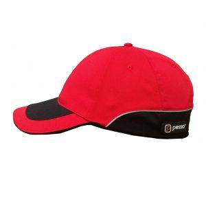 kepure-su-snapeliu-pesso-raudona