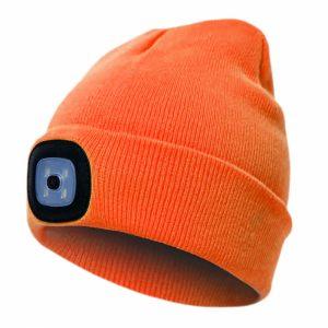 megzta-kepure-pesso-kled-su-led-lemputemis-oranžinė